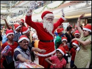 how christmas is celebrated in india