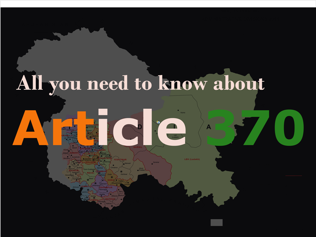 Article 370 : Top 8 Facts About Article 370 That Every Indian Must Know