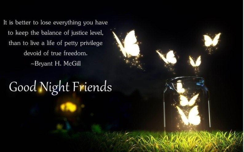 best good night messages for friends-min