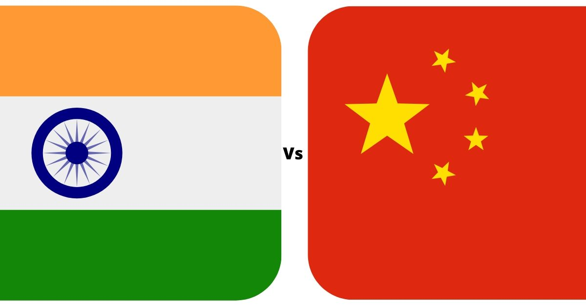 india vs china war